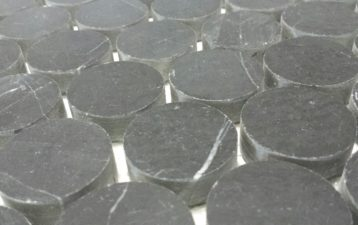 Marble Round Penny Mosaics