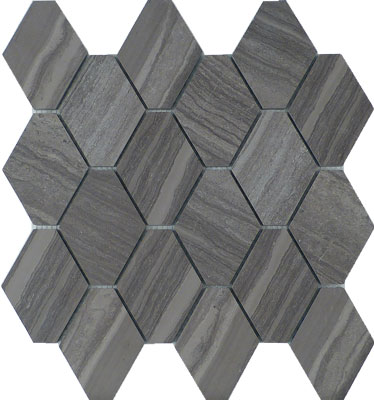 Elongated Hexagonal Marble