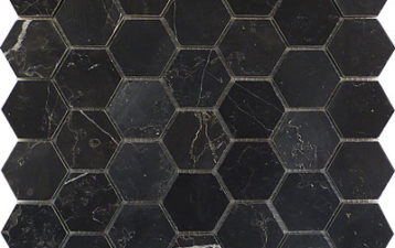 Hexagonal Marble Mosaic