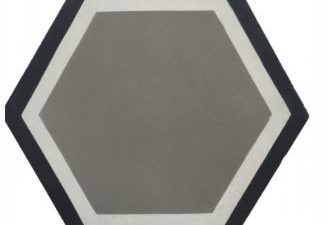 Grey Hexagon