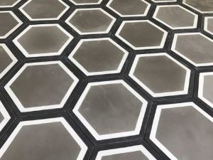 Grey Hexagon Insitu