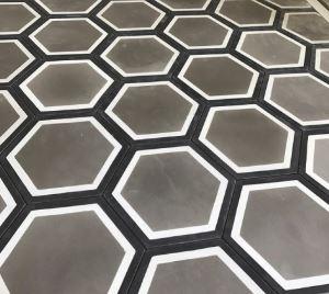 Grey Hexagon Insitu