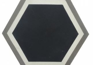 Hexagon Encaustic