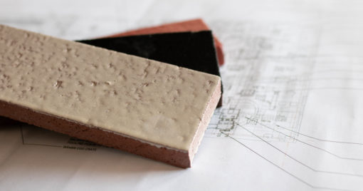 Thin glazed brick