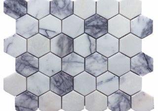 New York Marble Hexagon