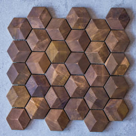 Rame 002 Copper Hexagon Mosaic