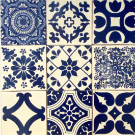 Handpainted Mexican Tiles
